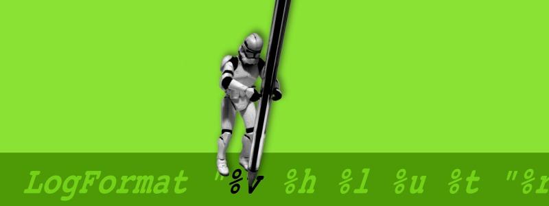 Clone trooper segurando caneta